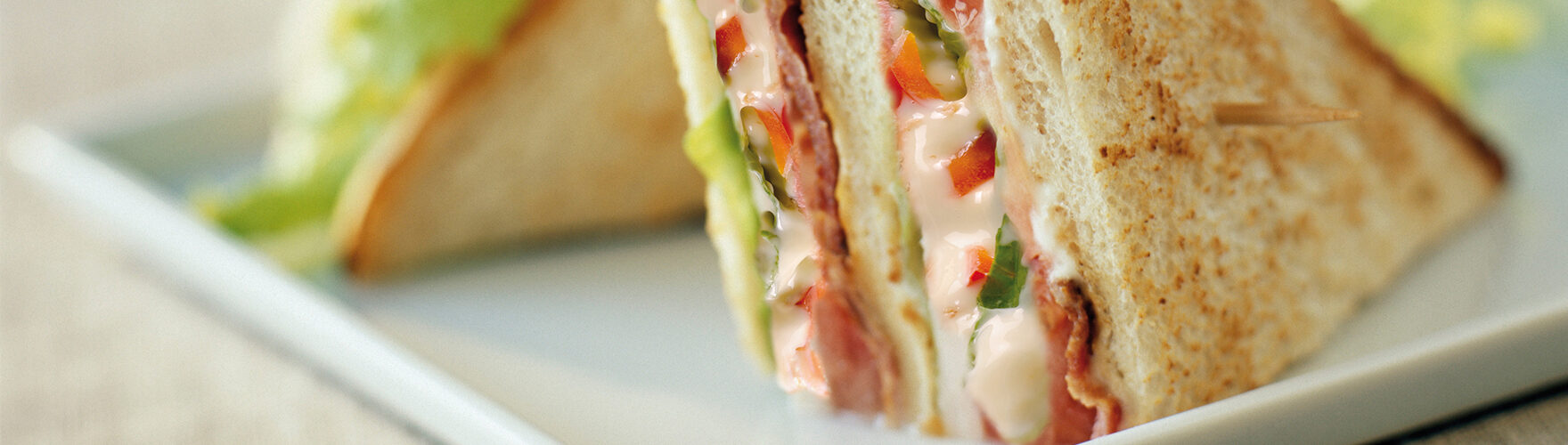 Klassieke club sandwich