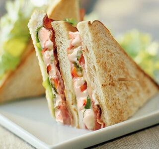 Klasický club sendvič