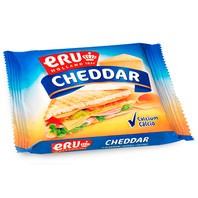 Slices Cheddar