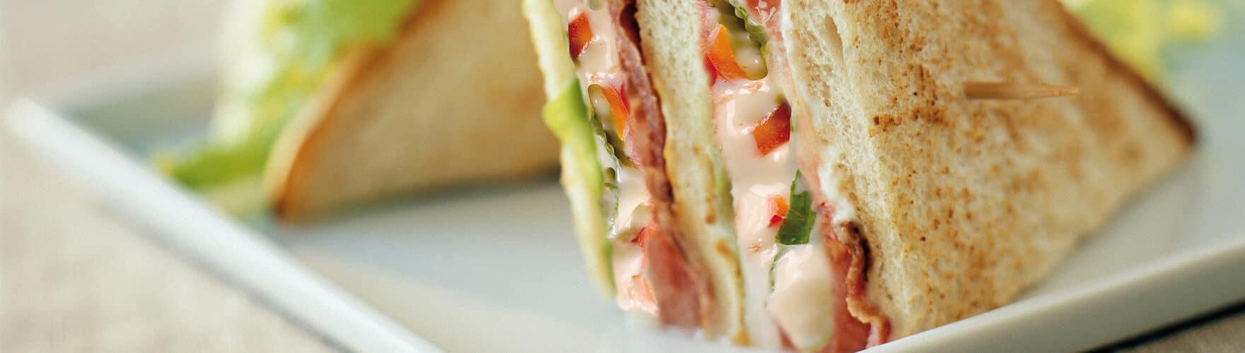 Club Sandwich mit ERU Maasdammer