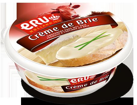 Pâtes au saumon et à l'ERU Crème de Brie