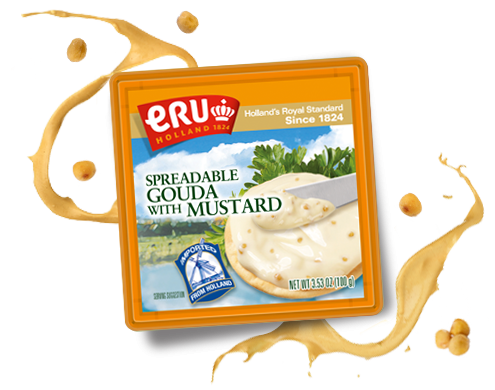 ERU Spreadable Gouda with Mustard