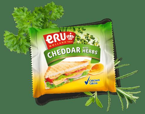 ERU Slices Cheddar Herbs
