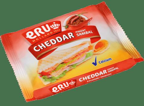 ERU Slices Cheddar Sambal
